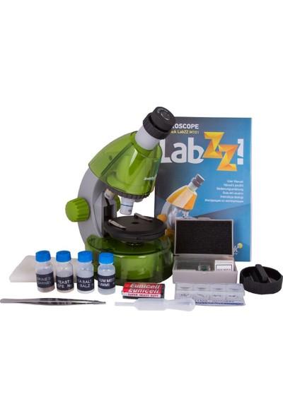 Levenhuk Labzz M101 Lime Microscope For Kids