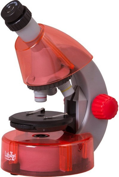 Levenhuk Labzz M101 Orange Microscope For Kids