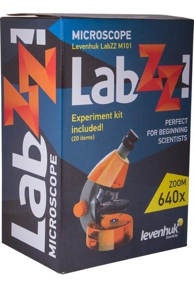Levenhuk Labzz M101 Azure Microscope For Kids