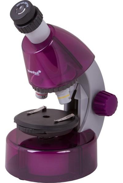 Levenhuk Labzz M101 Amethyst Microscope For Kids
