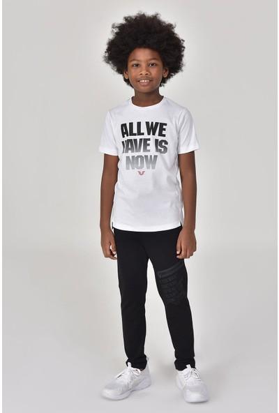 Bilcee Siyah Erkek Çocuk Eşofman Altı GS-8165
