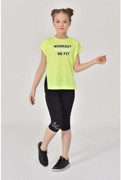 Bilcee Yeşil Kız Çocuk T-Shirt Gs-8159