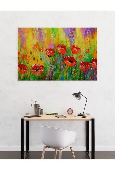 Dekoliya Yağlı Boya Çiçek Tablo 30 x 45 cm