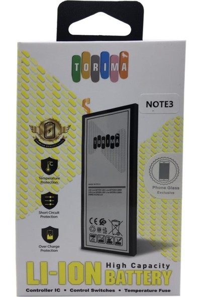 Torima Samsung Galaxy Note 3 Cep Telefonu Bataryası