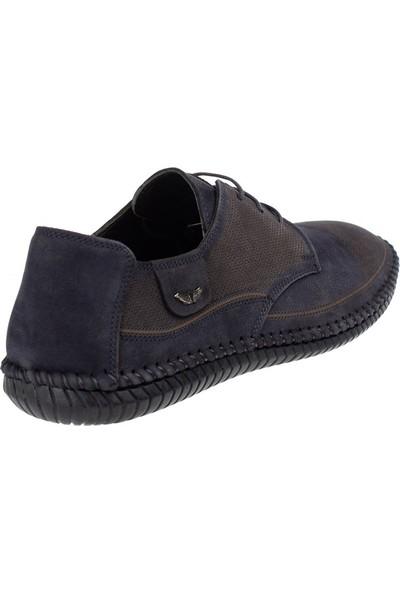 Celal Gültekin CG 8948 Erkek Günlük Ayakkabı Lacivert Nubuk