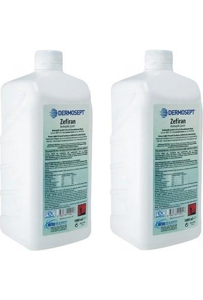 Dermosept Zefiran Çözelti Antibakteriyel 2x1000 ml