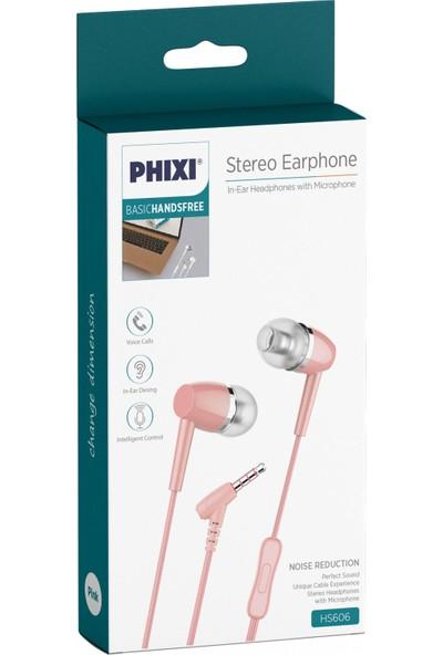 Phixi HS606P Basic Mikrofonlu Kulakiçi Kulaklık