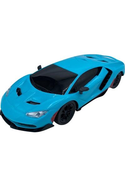 Can-Em Oyuncak Uzaktan Kumandalı Şarjlı Araba 1385-7A - Mavi