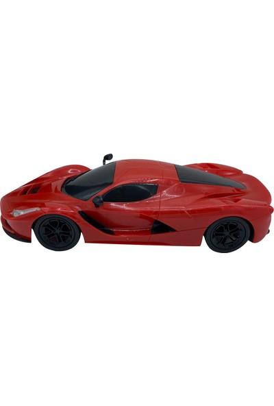 Can-Em Oyuncak Uzaktan Kumandalı Şarjlı Araba 1385-5A - Kırmızı