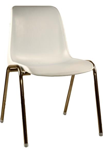 Plastilife Bahçe Sandalyesi Alüminyum Bacaklı Plastik Sandalye
