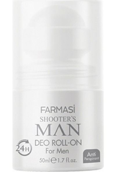 Farmasi Shooters Man Edp 100 ml Erkek Parfüm 50 ml Roll On
