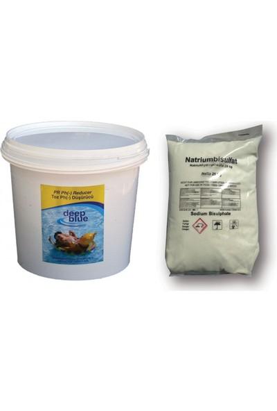 Deep Blue Toz Ph (-) Düşürücü 25 kg Havuz Kimyasalı