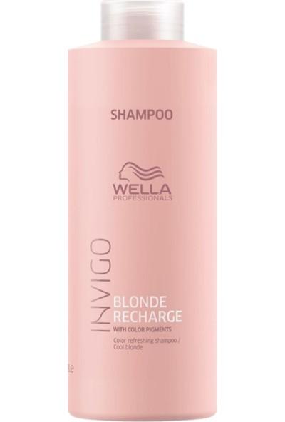 Wella Blonde Recharge Şampuan 1000 ml