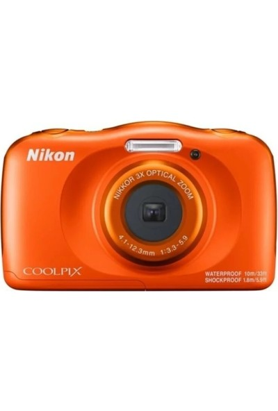 Nikon Coolpix W150 Holiday Kit Turuncu