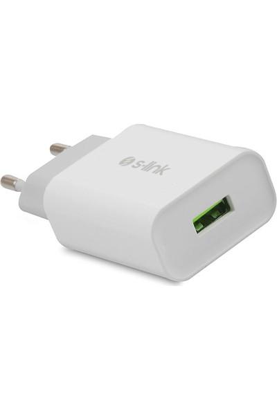 S-Link Universal USB Ev Şarj Adaptörü 1100 Mah