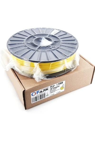 Fark Pla+ Sarı 1,75 mm 3D Filament