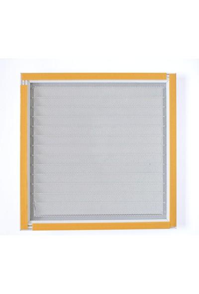 Alupan Alüminyum Menfez Banyo WC Havalandırma Panjur 20 x 20 cm