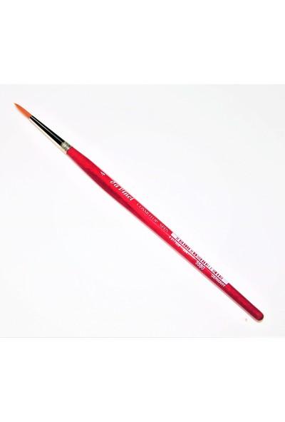 Davinci Sentetik Kırmızı Sap Cosmotop Sanatsal Profesyonel Fırça No: 4