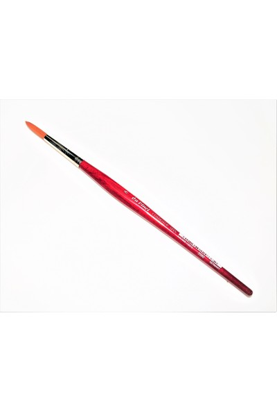 Davinci Sentetik Kırmızı Sap Cosmotop Sanatsal Profesyonel Fırça No: 8