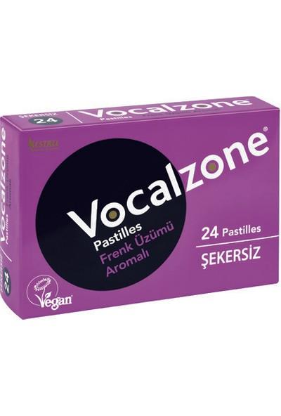 Vocalzone Frenk Üzüm Şekersiz 24 Takviye Edici Gıda