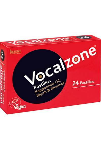 Vocalzone 24'lü Pastil Takviye Edici Gıda