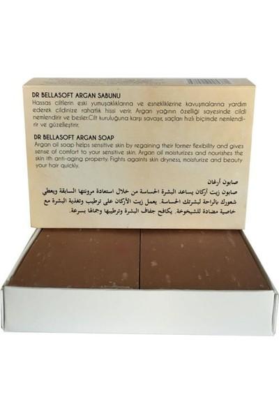 Dr Bellasoft Katkısız Doğal Saf Argan Yağlı Sabun 130 gr