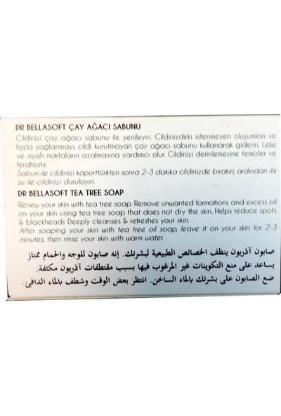 Dr Bellasoft Katkısız Doğal Çay Ağacı Yağlı Sabun 130 gr