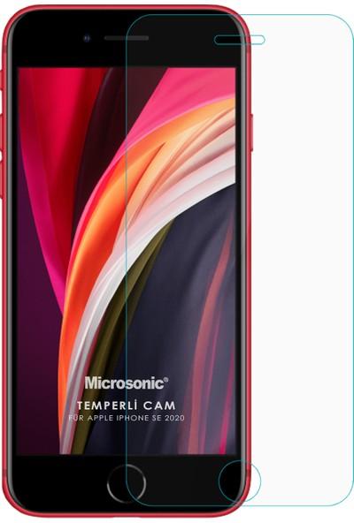 Microsonic Apple iPhone Se 2020 Temperli Cam Ekran Koruyucu