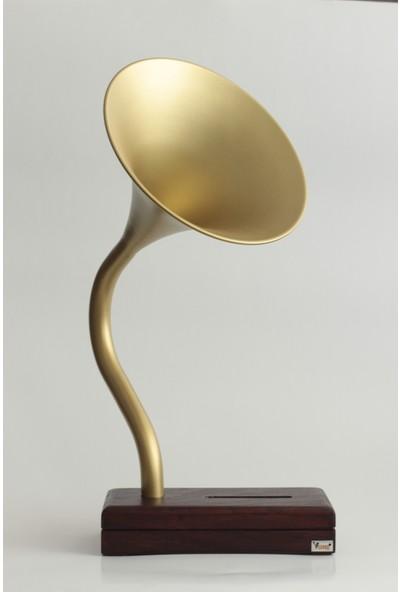 Vune Akustik Gramofon - Altın