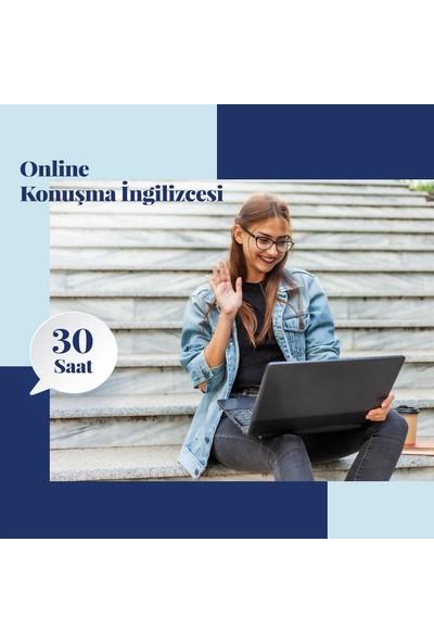 Online Konuşma Ingilizcesi Eğitimi - Canlı Bire Bir Özel Ders -30 Saat