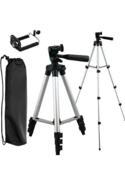 Onetick 3110 102 cm Katlanabilir Telefon Kamera Tripod