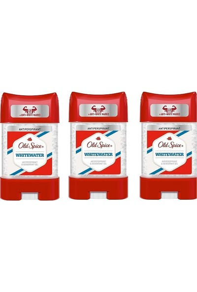 Old Spice Clear Jel 70 ml Whitewater 3 Adet