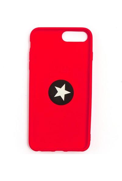 Case Markt Apple iPhone 7 Plus Yüzüklü Standlı Silikon Telefon Kılıfı