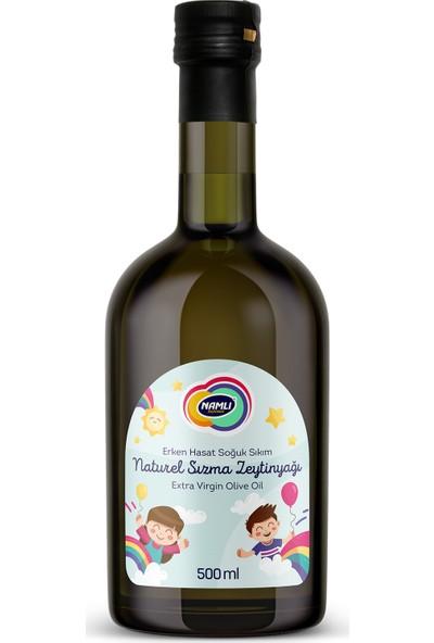 Namlı Zeytinleri Çocuklara Özel Sızma Zeytinyağı - 500 ml