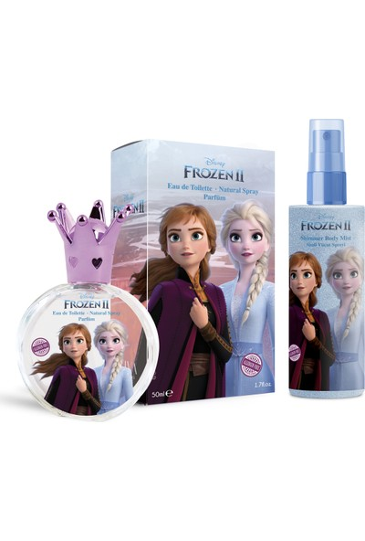 Disney Frozen2 50ML Parfüm Edt + 150ML Body Mist