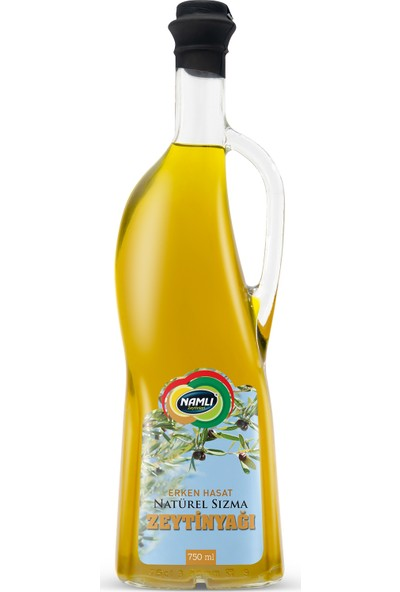 Namlı Zeytinleri Erken Hasat Sızma Zeytinyağı - 750 ml