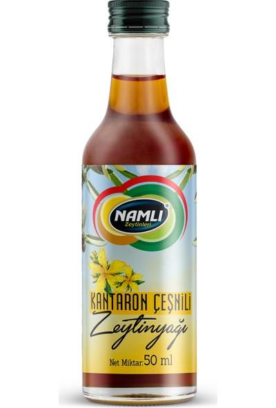 Namlı Zeytinleri Kantaron Çeşnili Zeytinyağı - 50 ml