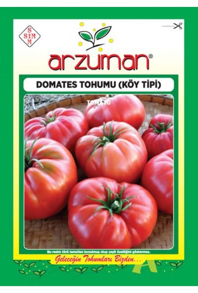 Arzuman Köy Tipi Domates Tohumu 500'lü
