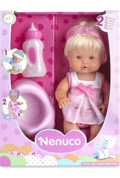 Nenuco Altını Islatan Biberonlu Oyuncak Kız Bebek 6744