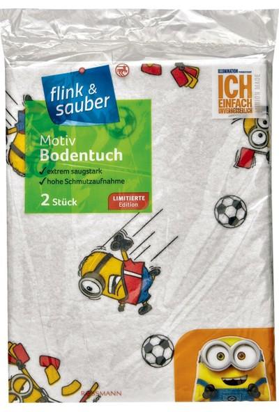 Flink & Sauber Yer Bezi 2'li Desenli 50 X 59 cm