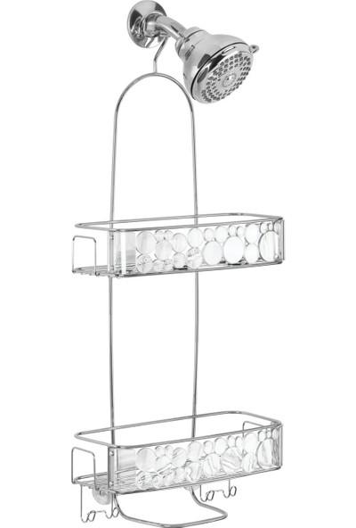 Bosphorus Banyo Duş Rafı 2 Katlı Damlalı Model