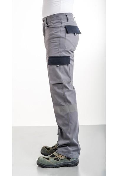 Dvc Myform Yazlık Avrupa Tasarım Çok Cepli Harman Palmira Iş Pantolonu