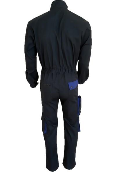 Simgeden İş Elbiseleri Boy Tulum Lacivert 50