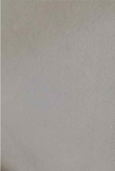 Aksu Halı Belarus Gül Kurusu Kaymaz Taban Jel Yolluk 100 x 100 cm