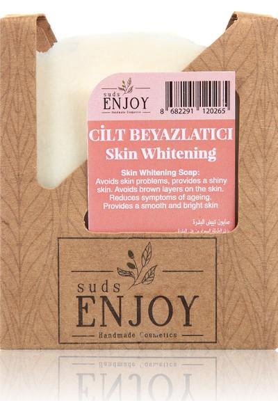 Suds Enjoy Doğal Cilt Beyazlatıcı El Yapımı Yüz, Saç ve Vücut Sabunu 100 gr