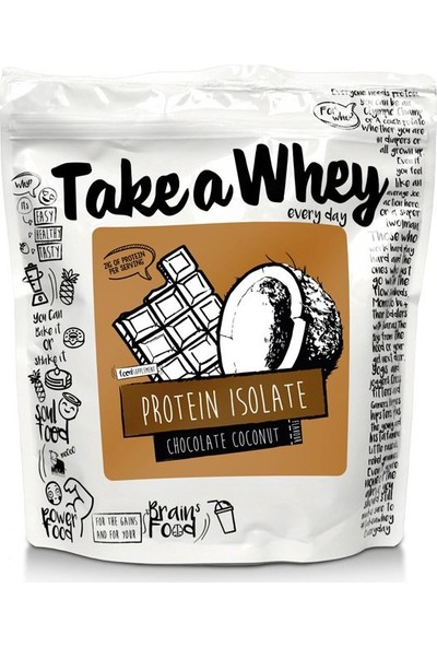 Take A Whey Protein Isolate Chocolate 908 gr