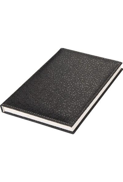 2K Çizgili Defter Hilton 20 x 28 cm Siyah