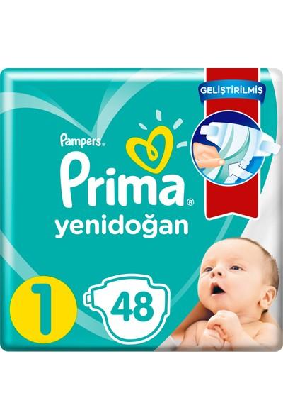 Prima Bebek Bezi Aktif Bebek 1 Beden 48 Adet Standard Paket