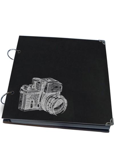 DirektAl Fotoğraf Makinası Temalı Albüm Anı Defteri