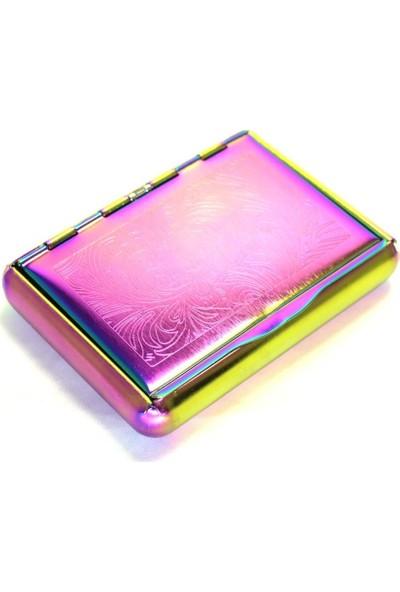 T-Bek Rainbow Uzun Tütün Tabakası Desen-1